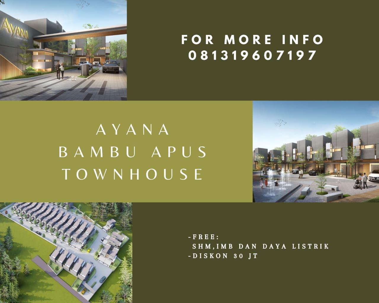 Promo Ayana Bambu Apus